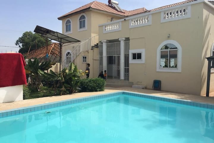 3 bedroom pool house  near Beirut Heights Beach