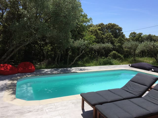 *NEW*SOUTH OF FRANCE - WONDERFULL COUNTRY SIDE - Junas - Huis