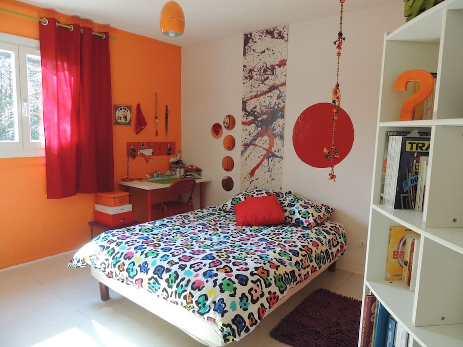 Une chambre pop chambres d 39 h tes louer saint for Chambre d hotes saint remy de provence