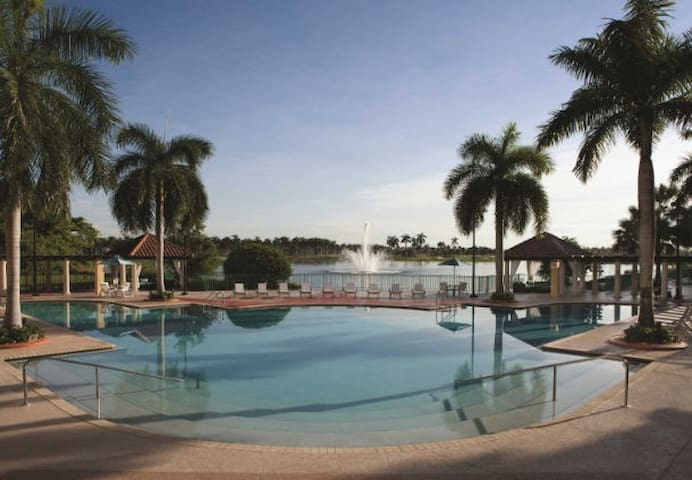 Marriott Villas at Doral, perfect for families!