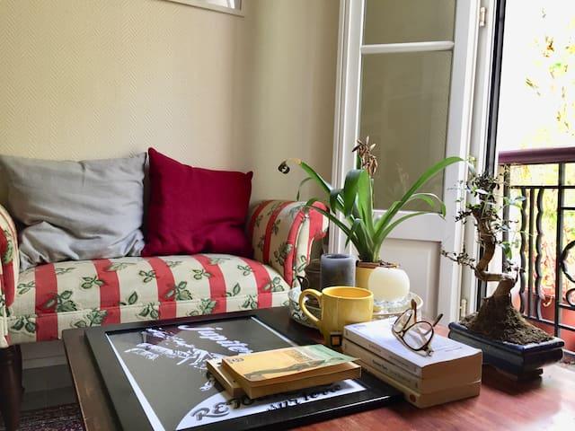 Typical Parisian artist's apartment (30 m2)