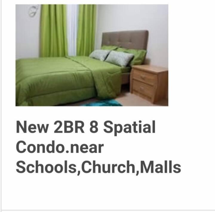 New 2 BR Unit 8 Spatial Condominium,Maa Davao