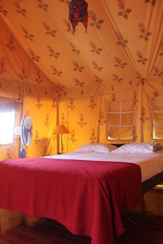 Five Five Restaurant and GuestTents - Anjuna