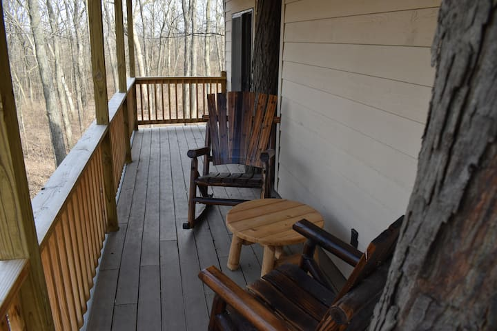 private deck on back