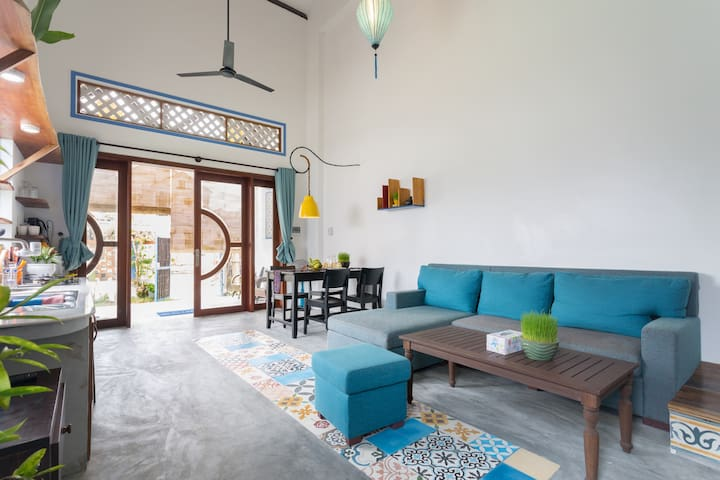 Spacious Beach Home - 2 brs - Hoi An