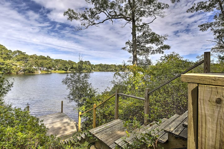 Secluded Waterfront Retreat w/ Pvt Dock & Hot Tub!