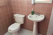 Baño recién remodelado