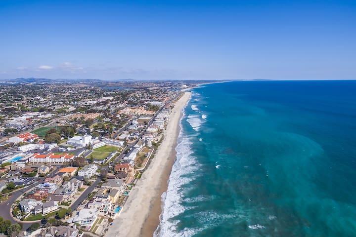 Miles of beaches to walk, sun and swim.
