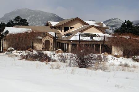 Estes Park Rocky Mountain Getaway No Cleaning Fee