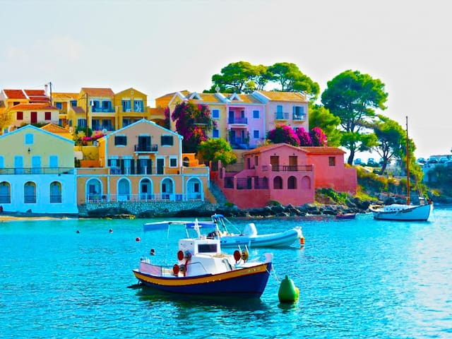 Kefalonia Island Argostoli FLATS + Pool Sleeps 2 - Argostolion - Appartement