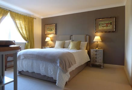 Private en suite room in Lelant, St Ives, Cornwall - Cornwall - House