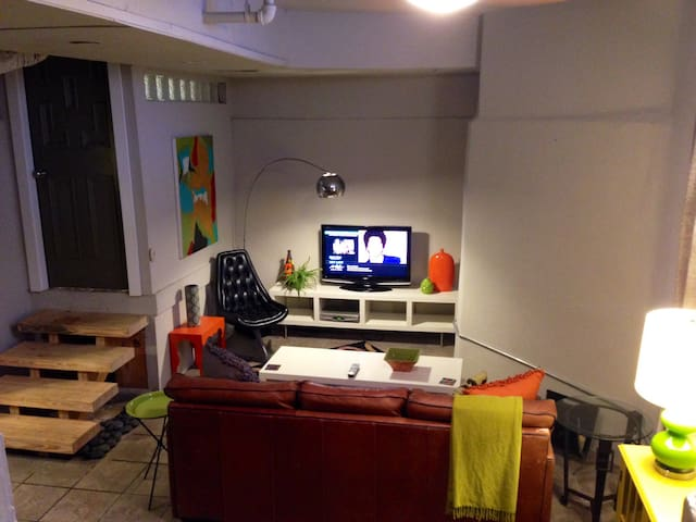 Furnished Basement Apartment in Historic home