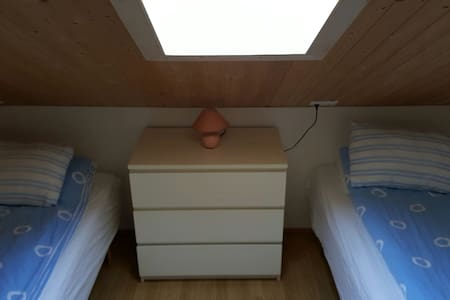 Small, cosy twin-room