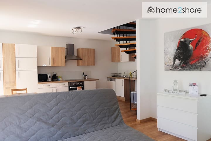 Modern holiday apartment in the historical Kurhaus