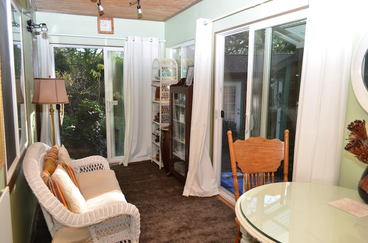 Private 2 room apt. garden view - Orinda - Wohnung
