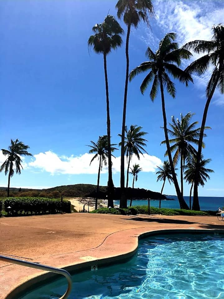 Magical Molokai Beachfront condo,Kepuhi beach