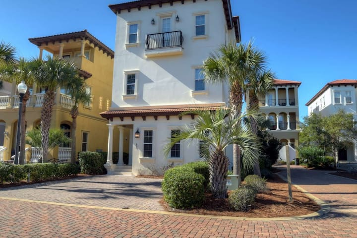 Luxury Seagrove Beach Home - Private Heated Pool - WIFI - Gulf Views!!! - Seagrove Beach - House