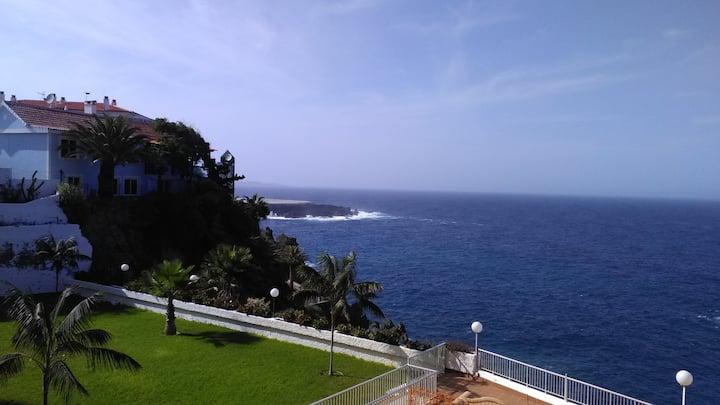 Estudio  con vistas,  Piscina y Playa. Tenerife