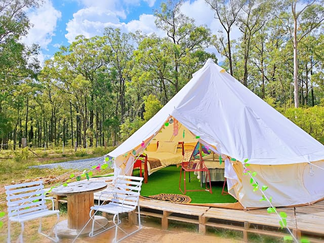 Wonderwander Glamping hunter valley Luxury Tent 5