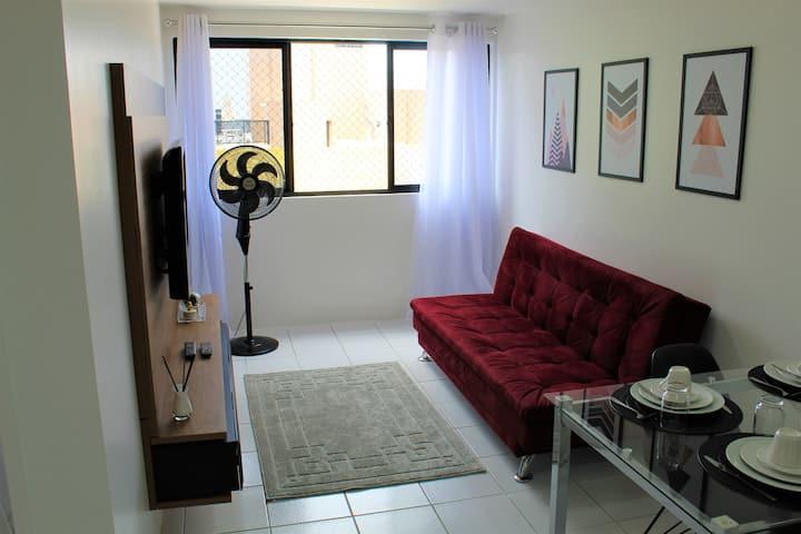 Apartamento Nuevo, Ponta Verde, Cerca de todo!