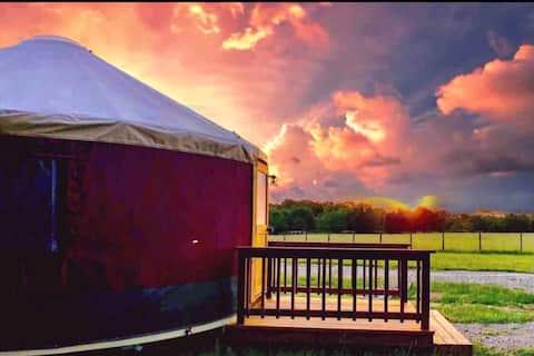 Wildflower Yurts ~ Bluebonnet