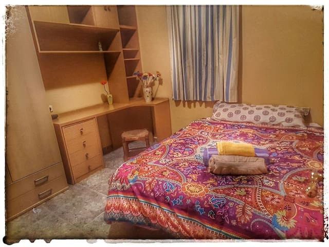 Cosy double bed room in Málaga - Málaga - Appartement