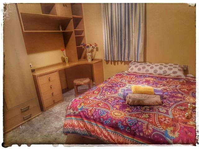 Cosy double bed room in Málaga - Málaga - Byt