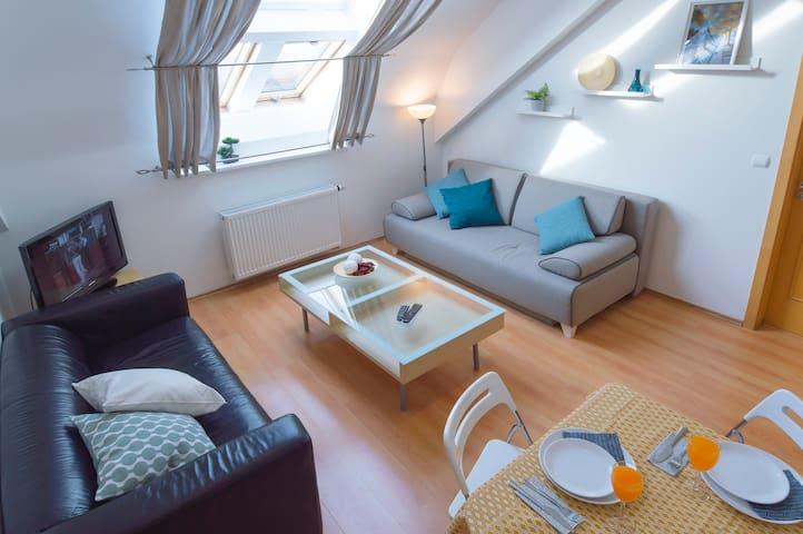 Loft apartment at Opatovicka