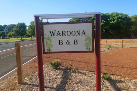 Waroona Bed and breakfast. Bedroom 2 of 3