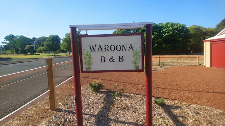 Waroona Bed and breakfast. Bedroom 2 of 3