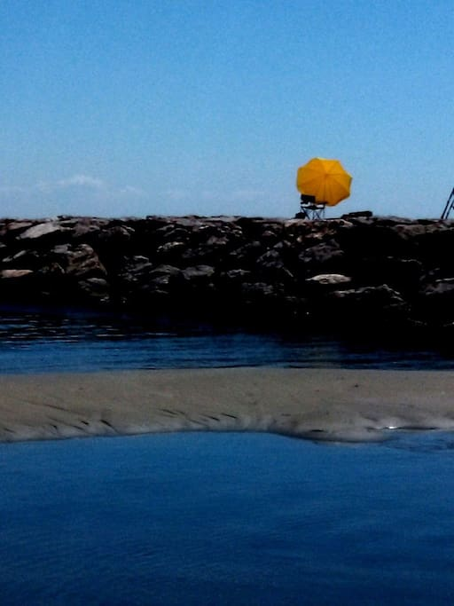 Aimez vous la pêche ?  toute l'année... Carnon Plage (commune de Mauguio)