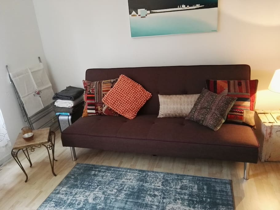 Sofa bed (for 1 or 2 people)