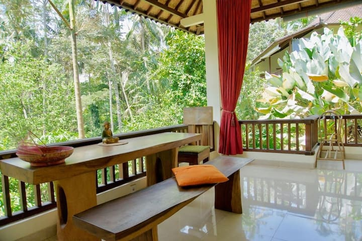 UBUD Village Jungle River Sanctuary, Facefull HOME