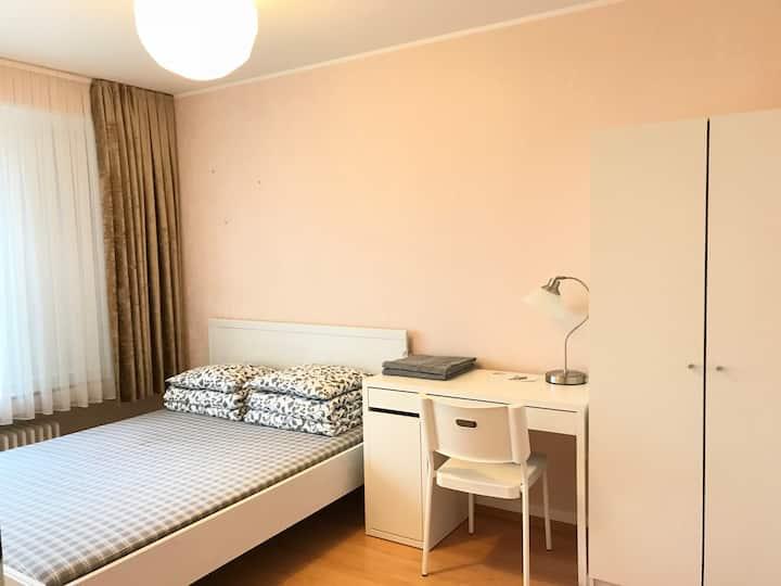 Comfortable private room near city center