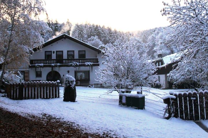 Alleinlage mit Sauna: Ferienwohnung (Landhausstil)