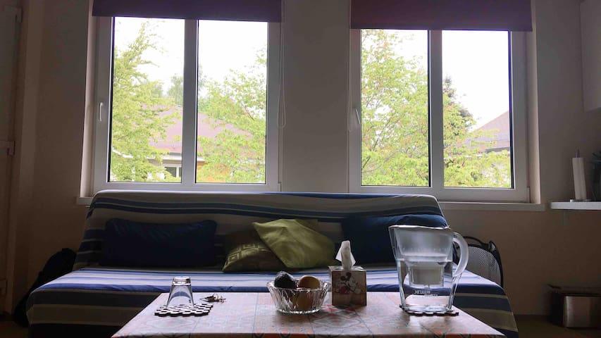 Ruhige Wohnung in WohnPark Gentilly