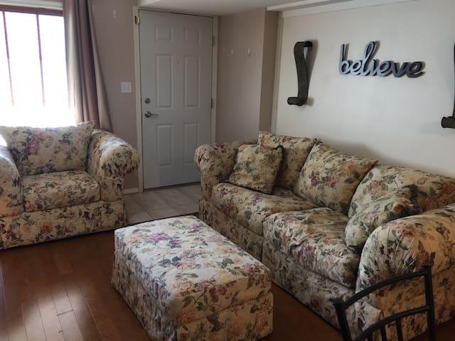 Quiet, quaint, 2 bedroom walk-out basement suite