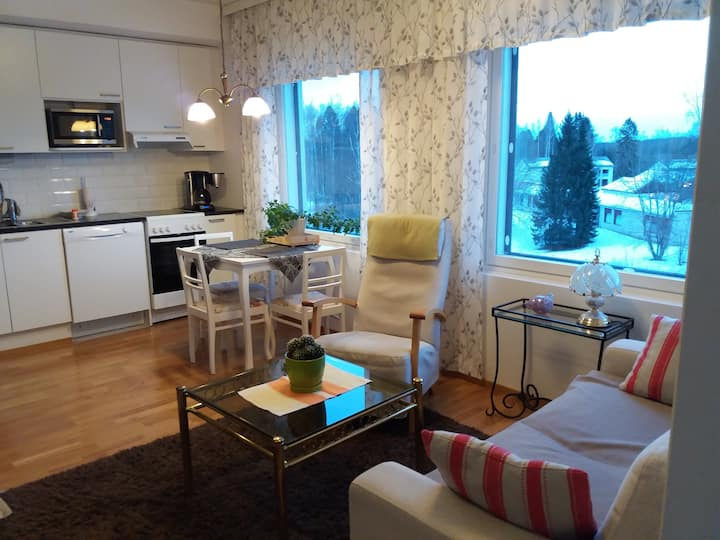 2-room apartment 1,5 km to harbour