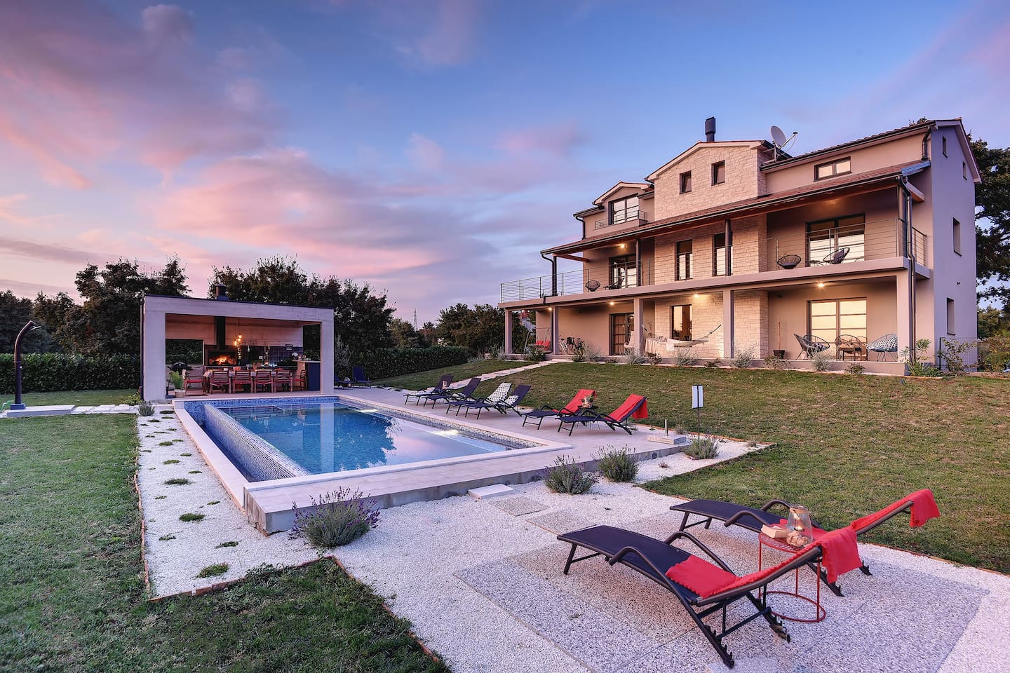 Villa2m Is located in central Istria, most Istrian towns are easily accessible.