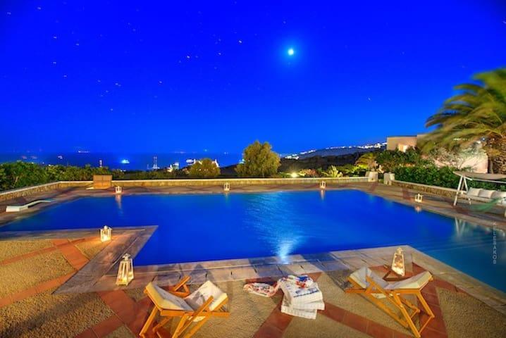 The Blue Horizon Villa ( strategically located)