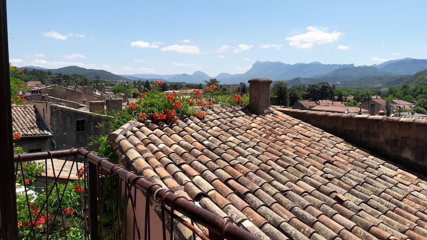 Superb pied-à-terre between Vercors and Provence - Crest - Apartment