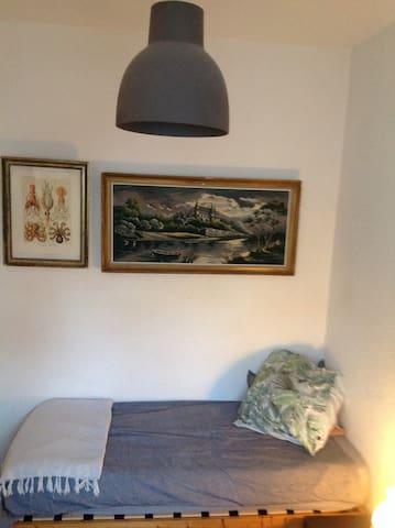 Petite chambre vintage