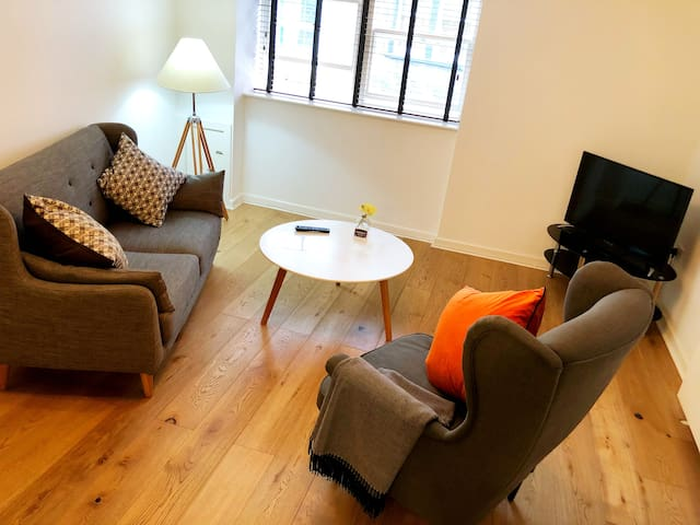 Nordic Apartment in Ulverston Town Centre