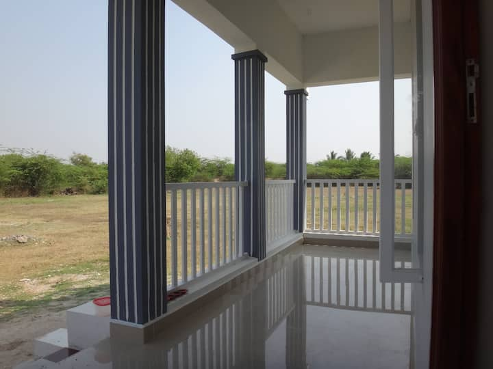 Bright and peaceful house near Tiruvannamalai