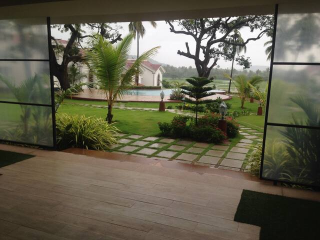 Two Bedroom Villa in Riviera sapphire, Siolim