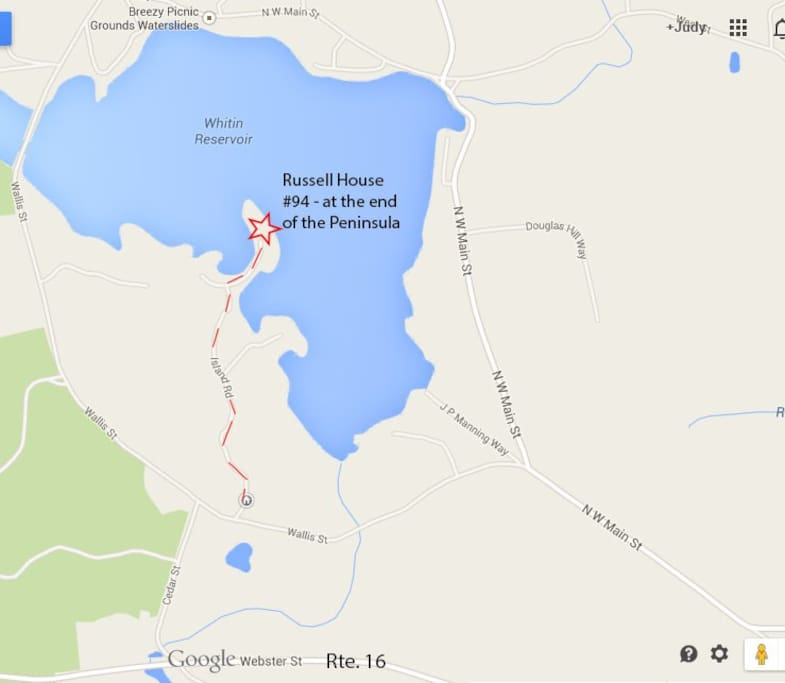 Quiet and remote location on beautiful lake