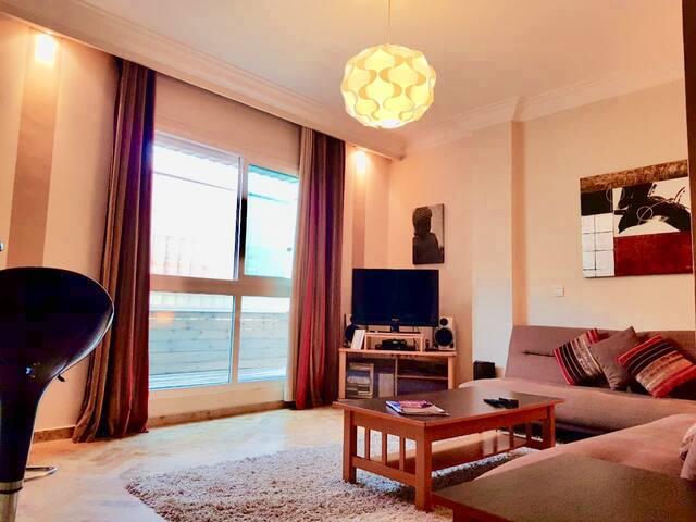 Appartement cosy et Calme au centre de Casablanca.