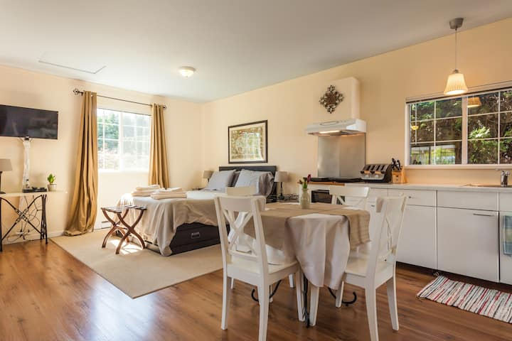 Cozy & Bright Langley City Suite