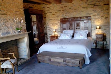 AngeLine : Chambre d'hotes + Espace Spa et Sauna - Saint-Thélo - Rumah Tamu