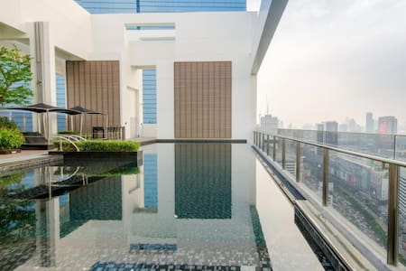 New condo by MRT, attractions+WIFI - Bangkok